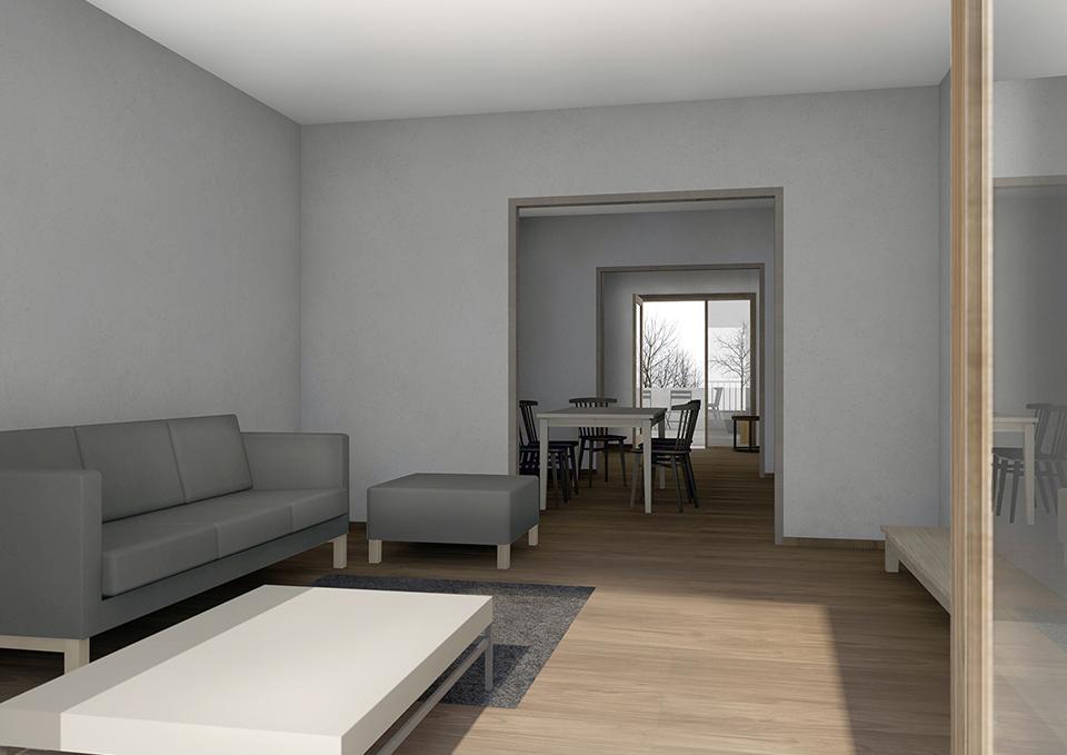 Diplomní projekt interiér bytu
